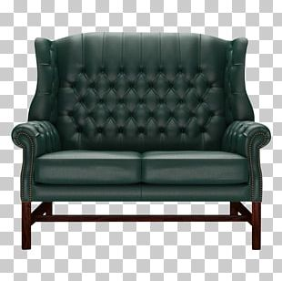Loveseat Sofa Bed Couch Club Chair PNG