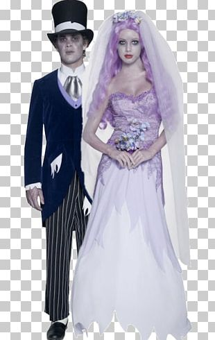 Costume Party Halloween Costume Clothing Bride PNG