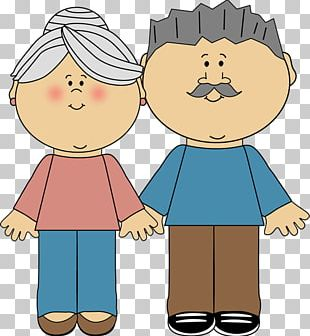 National Grandparents Day Family PNG