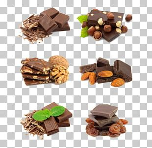 Chocolate Bar Chocolate Cake Chocolate Brownie Nut PNG