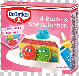 Food Coloring Dr. Oetker 4 Baking And Food Colors Dr.Oetker 4 Lebensmittelfarben Frosting & Icing PNG