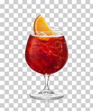 Negroni Cocktail Juice Sangria Spritz PNG