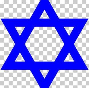 Star Of David Judaism Jewish People Symbol Menorah PNG