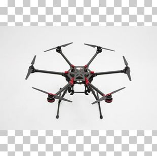 DJI Spreading Wings S900 Unmanned Aerial Vehicle Multirotor Helicopter PNG