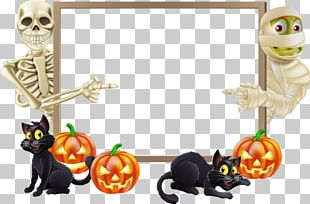 Halloween Landscape Trick-or-treating PNG