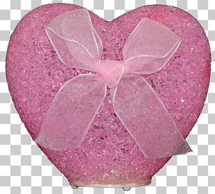 Petal Magenta Pink M Heart PNG