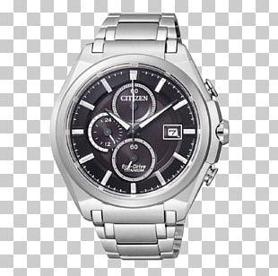 Watch Eco-Drive Citizen Holdings Chronograph Titanium PNG