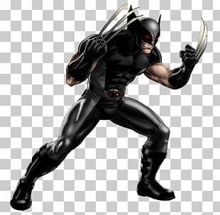 Marvel: Avengers Alliance Wolverine Professor X X-23 Psylocke PNG