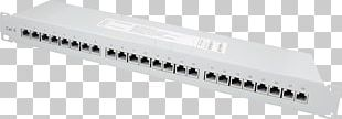 Patch Panels Category 6 Cable Network Cables Electrical Cable Computer Network PNG