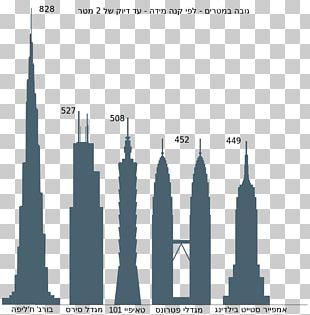 Taipei 101 Willis Tower Petronas Towers Building Burj Khalifa PNG