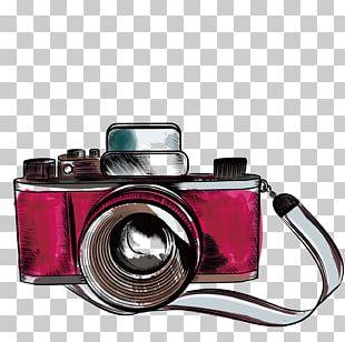 Camera Drawing Photography Illustration PNG