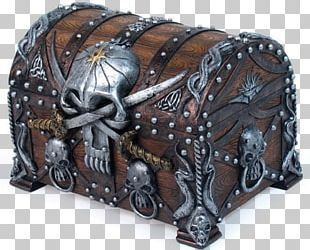 Buried Treasure Chest Casket Piracy Box PNG