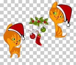 Cat Kitten Hello Kitty Christmas PNG