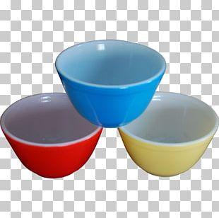 Plastic Cobalt Blue Bowl Cup PNG