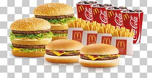 Cheeseburger McDonald's Big Mac Breakfast Sandwich Veggie Burger Fast Food PNG