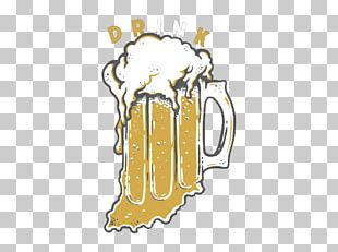 Free Beer Orange Illustration PNG