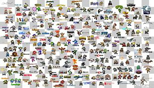 Mega Man Video Game Pixel Art Character 8-bit Color PNG