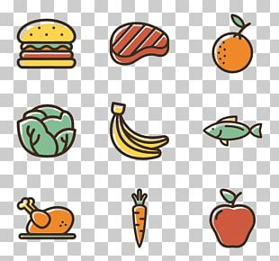 Food Computer Icons Healthy Diet Meal PNG