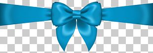 Bow Tie Blue Ribbon Product PNG