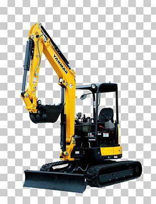 Caterpillar Inc. Compact Excavator Yanmar Heavy Machinery PNG
