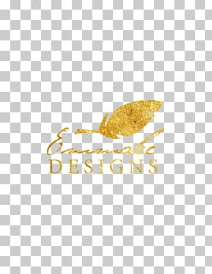 Gold Leaf Logo Metal Leaf PNG