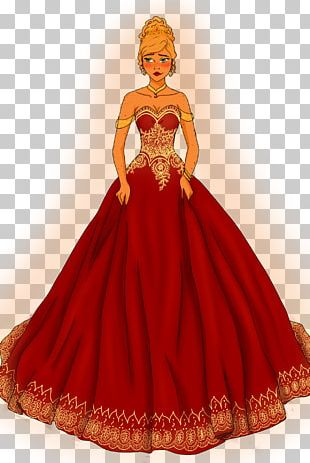 Gown Costume Design Dress Peach PNG
