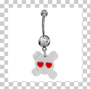 Earring Charms & Pendants Body Jewellery Silver PNG