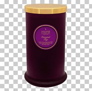 Victoria And Albert Museum Lighting Sweet Scented Geranium Purple Candle PNG