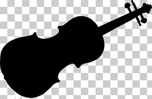 Violin Silhouette Musical Instruments PNG
