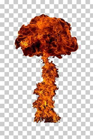 Nuclear Explosion Flame Bomb PNG