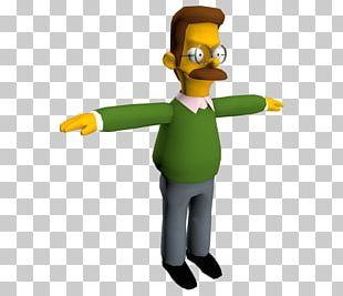 Ned Flanders Homer Simpson Marge Simpson The Simpsons: Road Rage Mr. Burns PNG