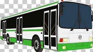 Public Transport Bus Service Transit Bus PNG
