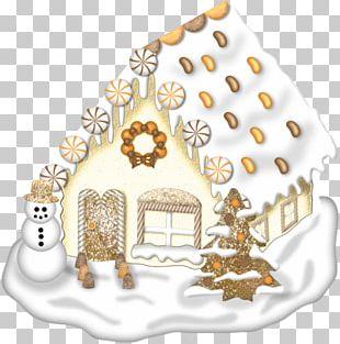 Gingerbread House Lebkuchen Royal Icing Food PNG