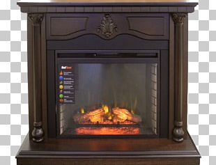 Hearth Electric Fireplace RealFlame Fireplace Mantel PNG