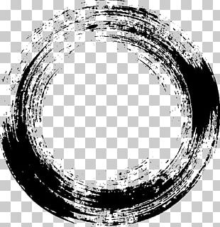 Black And White Monochrome Photography Brush PNG