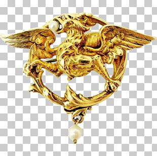 Brooch Gold Jewellery Charms & Pendants Pin PNG