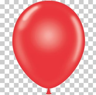 Mylar Balloon Red Latex Party PNG