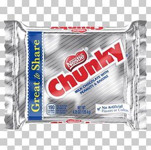 Nestlé Chunky Chocolate Bar Mars Candy Bar PNG