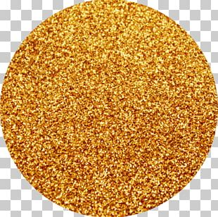 Glitter Orange Gold Yellow Color PNG