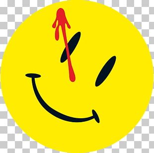 Watchmen Rorschach Smiley Comics Graphic Novel PNG