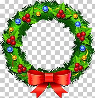 Christmas Ornament Santa Claus Wreath Christmas Day Christmas Decoration PNG