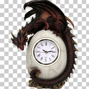 Mantel Clock Dragon Floor & Grandfather Clocks Table PNG