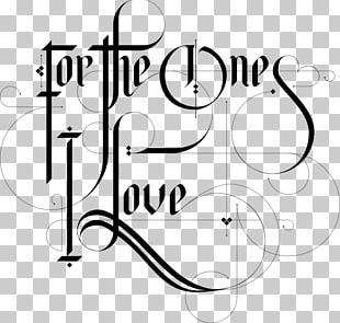 Calligraphy Typography Lettering Font PNG