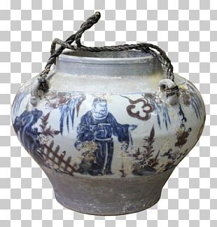 Jug Vase Blue And White Pottery Ceramic PNG