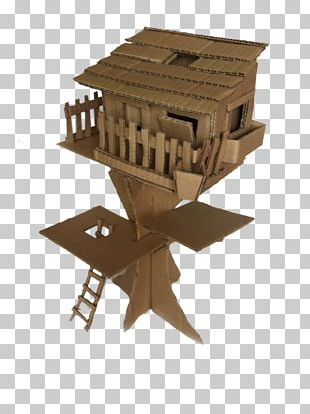 Tree House Cardboard Box Png Clipart Angle Box Building