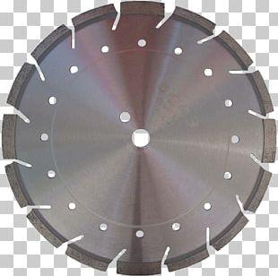 Diamond Blade Cutting Concrete Tool PNG
