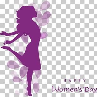 International Womens Day Happiness Quotation Woman Wish PNG