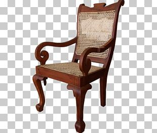 Barber Chair Furniture Bench Wood PNG