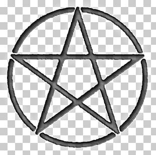 Pentacle Pentagram Symbol Wicca Witchcraft PNG