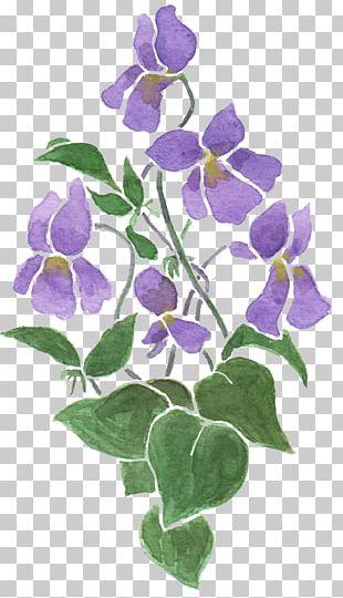 Cloth Napkins Sweet Violet Flower Drawing PNG